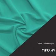 Tecido Tricoline Liso Cor Azul Tiffany 100% algodão