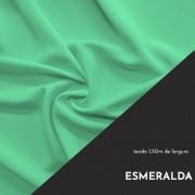 Tecido Tricoline Liso Cor Esmeralda 100% algodão