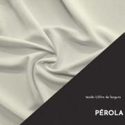Tecido Tricoline Liso Cor Pérola 100% algodão