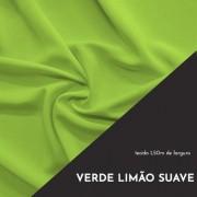 Tecido Tricoline Liso Cor Verde Limão Suave 100% algodão
