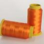 Linha trilobal - Cor laranja puro- 1000 metros