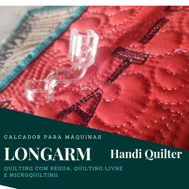 Calcador Clarity para régua e microquilting – Handi Quilter