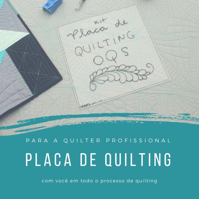 KIT Placa de Quilting OQS - DUPLA