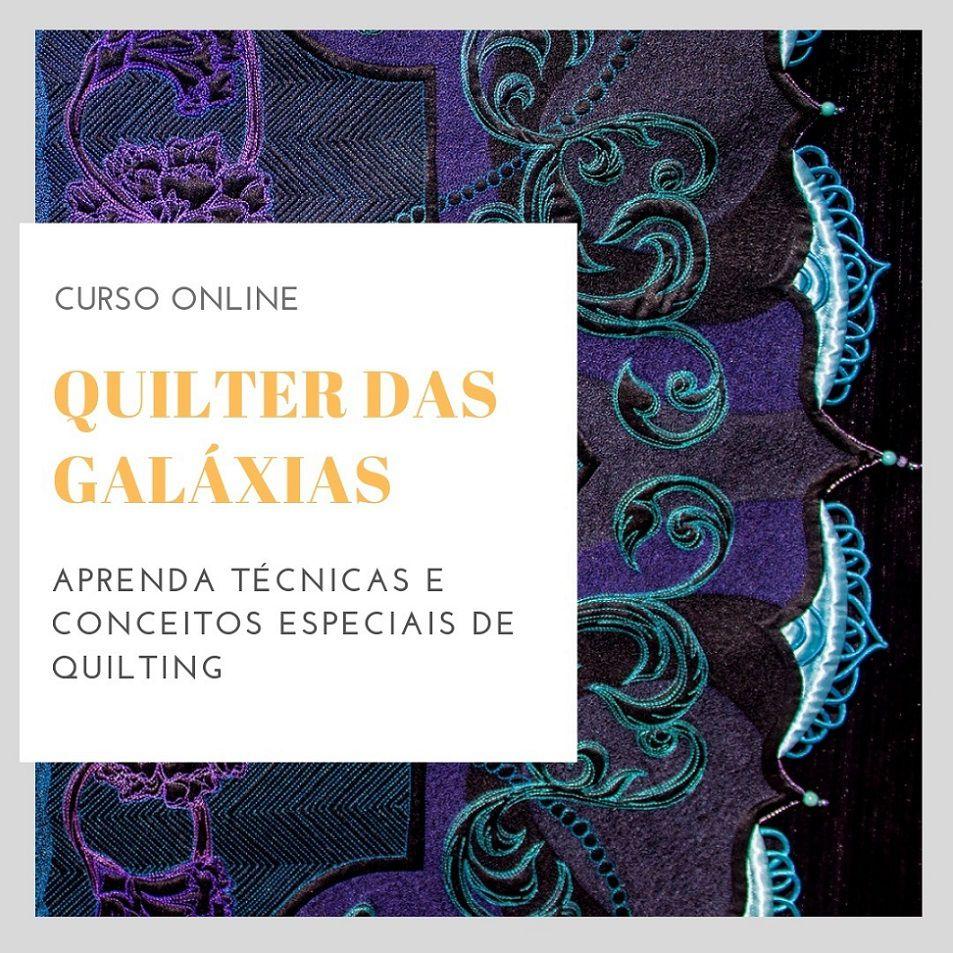 Quilter das Galáxias - programa de curso online