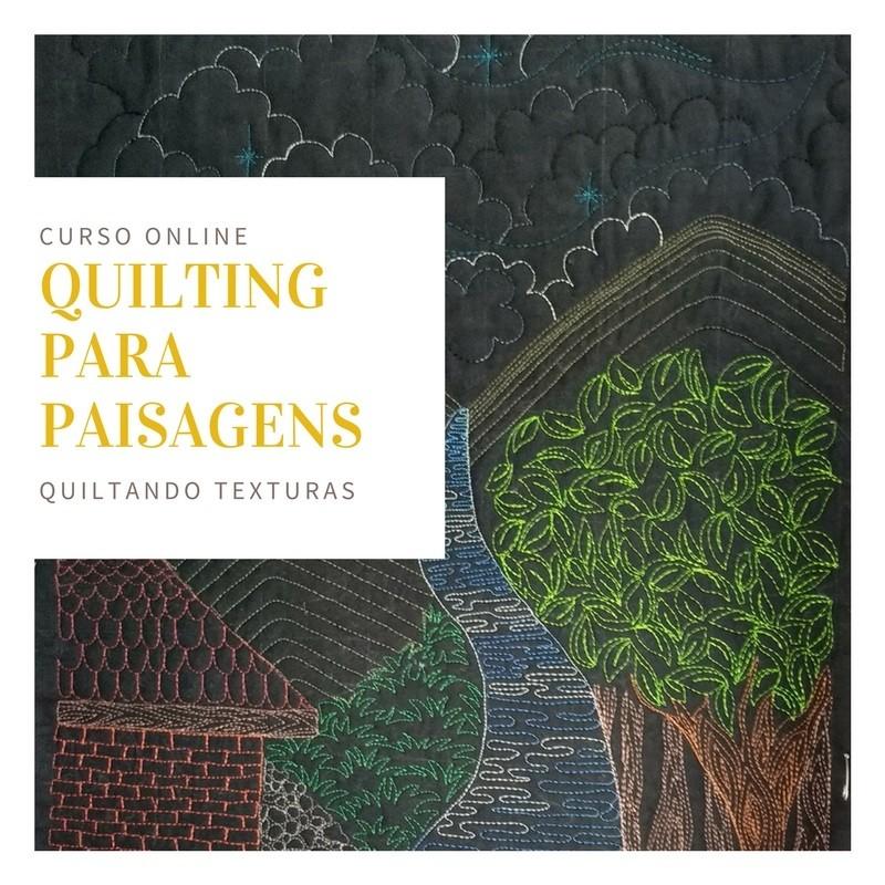 Quilting para paisagens - curso online