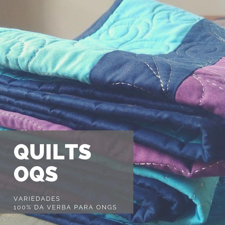 QUILTS  AUTORAIS - 100% destinados a ONGs