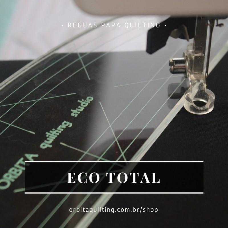 Régua de quilting Eco Total
