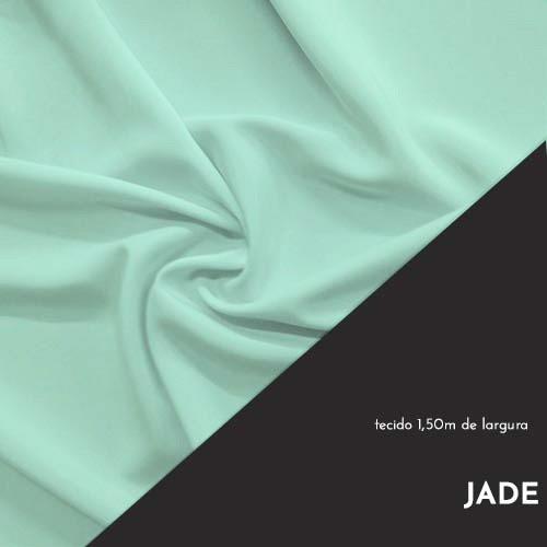 Tecido Tricoline Liso Cor Jade 100% algodão