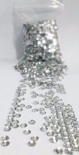 100 Pedras Brilho Cristal Swarovski p/ Unhas Gel