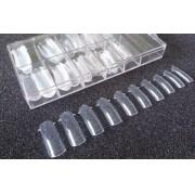 Moldes F1 100 Unidades Reutilizáveis Cristal Silicone Porcelana Gel