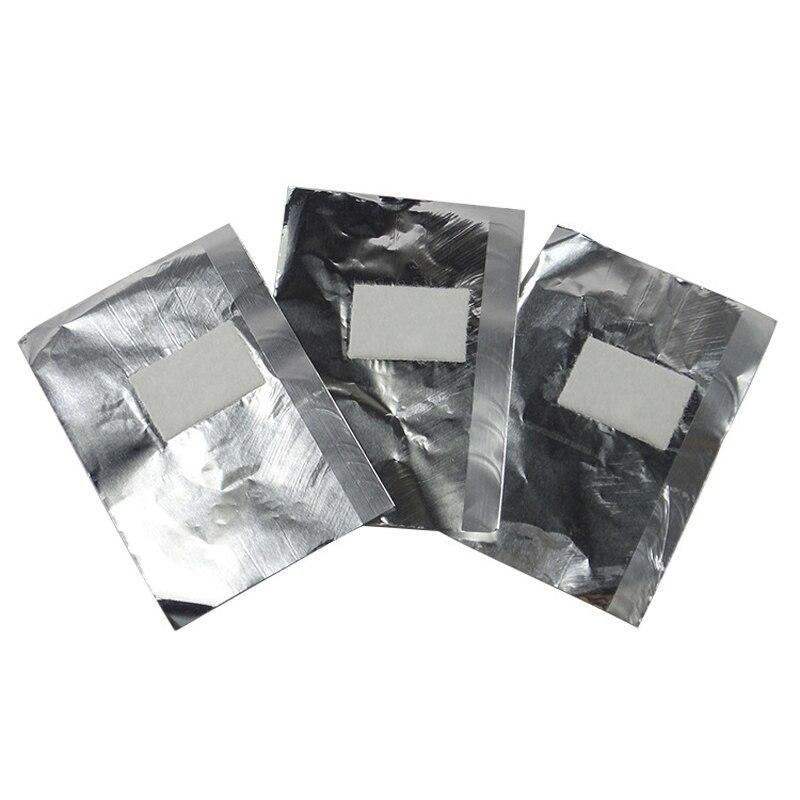 Alumínio Remoção com Algodão para Unhas Gel - Caixa 100 Removedor