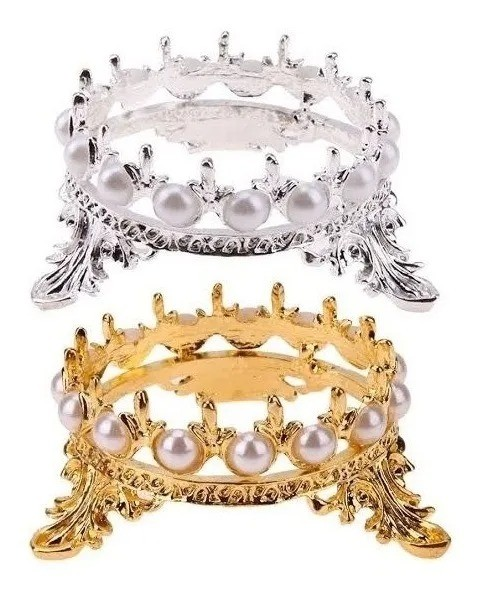 Apoio P/ Diamante Pedra Coroa Suporte Pincel Porta Decoração