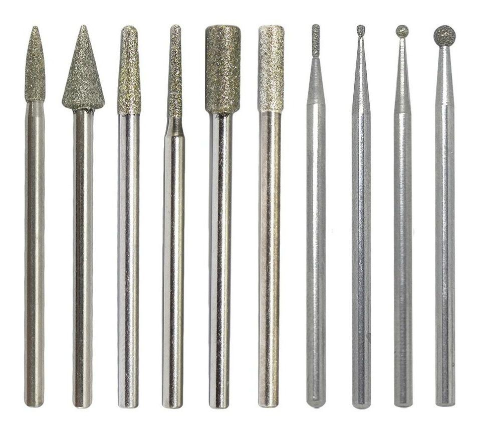 Brocas Diamantada Lixadeira Elétrica - Unique Nails - (Vários Modelos)