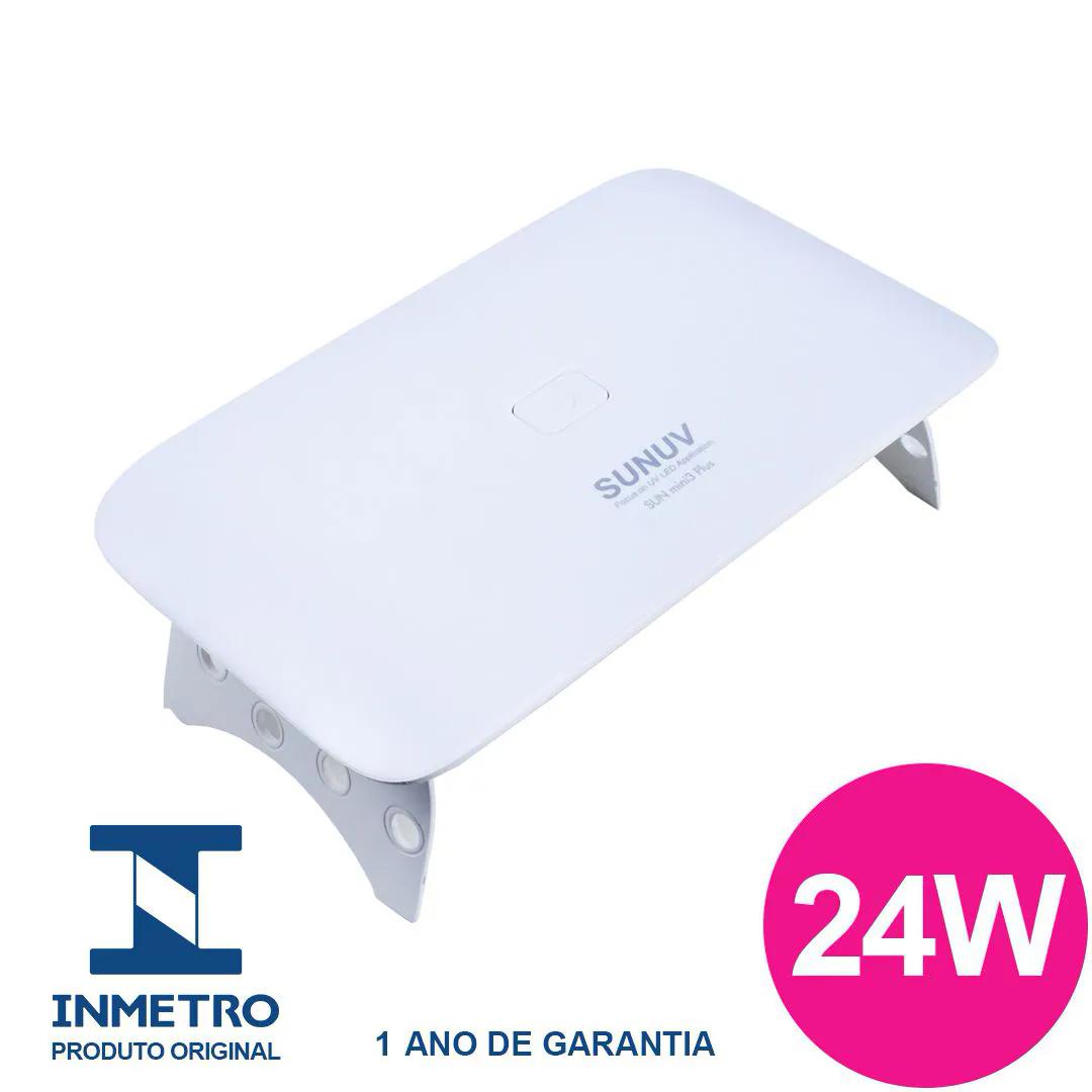 Cabine LED/UV Sun Mini 3 Plus 24w Original SunUV