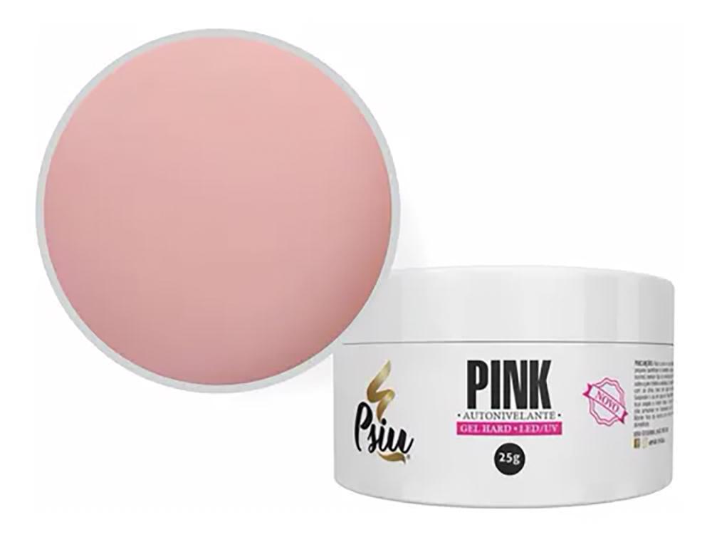 Gel Autonivelante p/ Unhas - Pink - Psiu (25g)