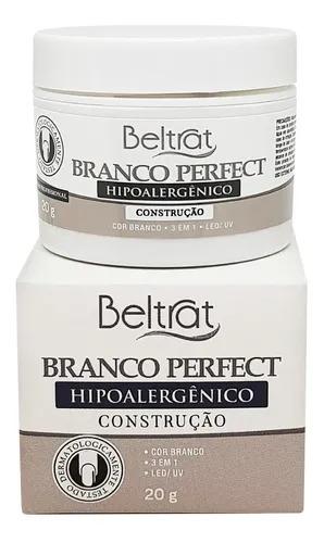 Gel Base p/ Unhas - Branco Perfect - Beltrat 20g
