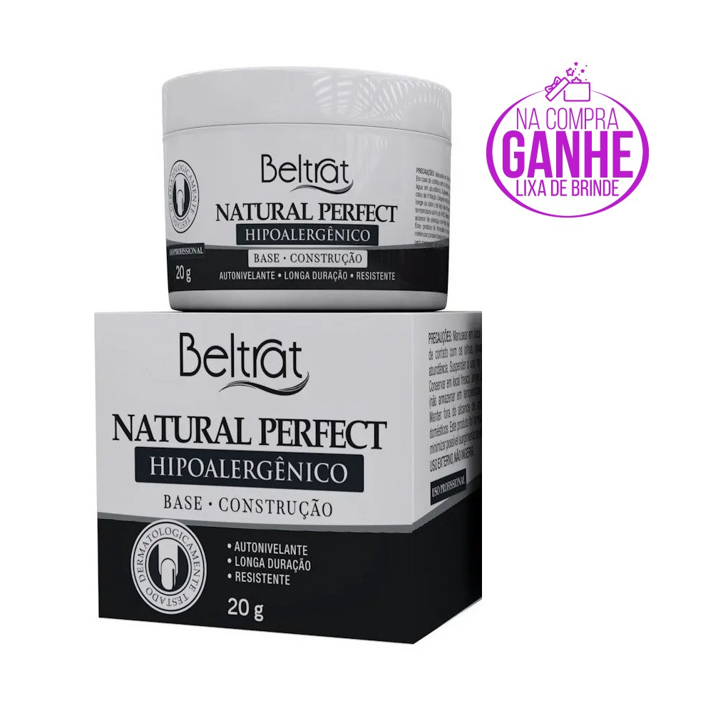 Gel Base p/ Unhas - Natural Perfect - Beltrat