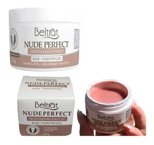 Gel Base p/ Unhas - Nude Perfect - Beltrat 20g