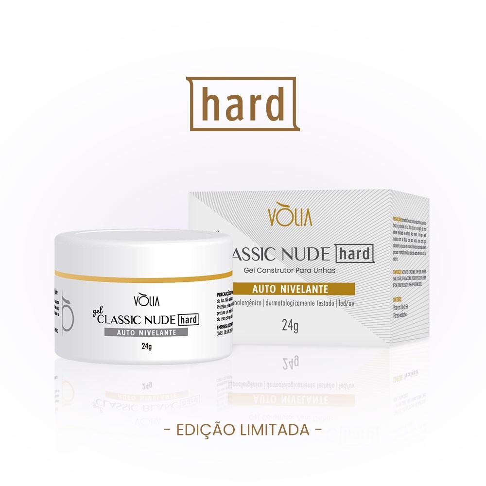 Gel Classic Nude HARD - Edição Limitada Vòlia (24g)