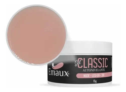 Gel Classic p/ Unhas - Nude - Emaux (15g)