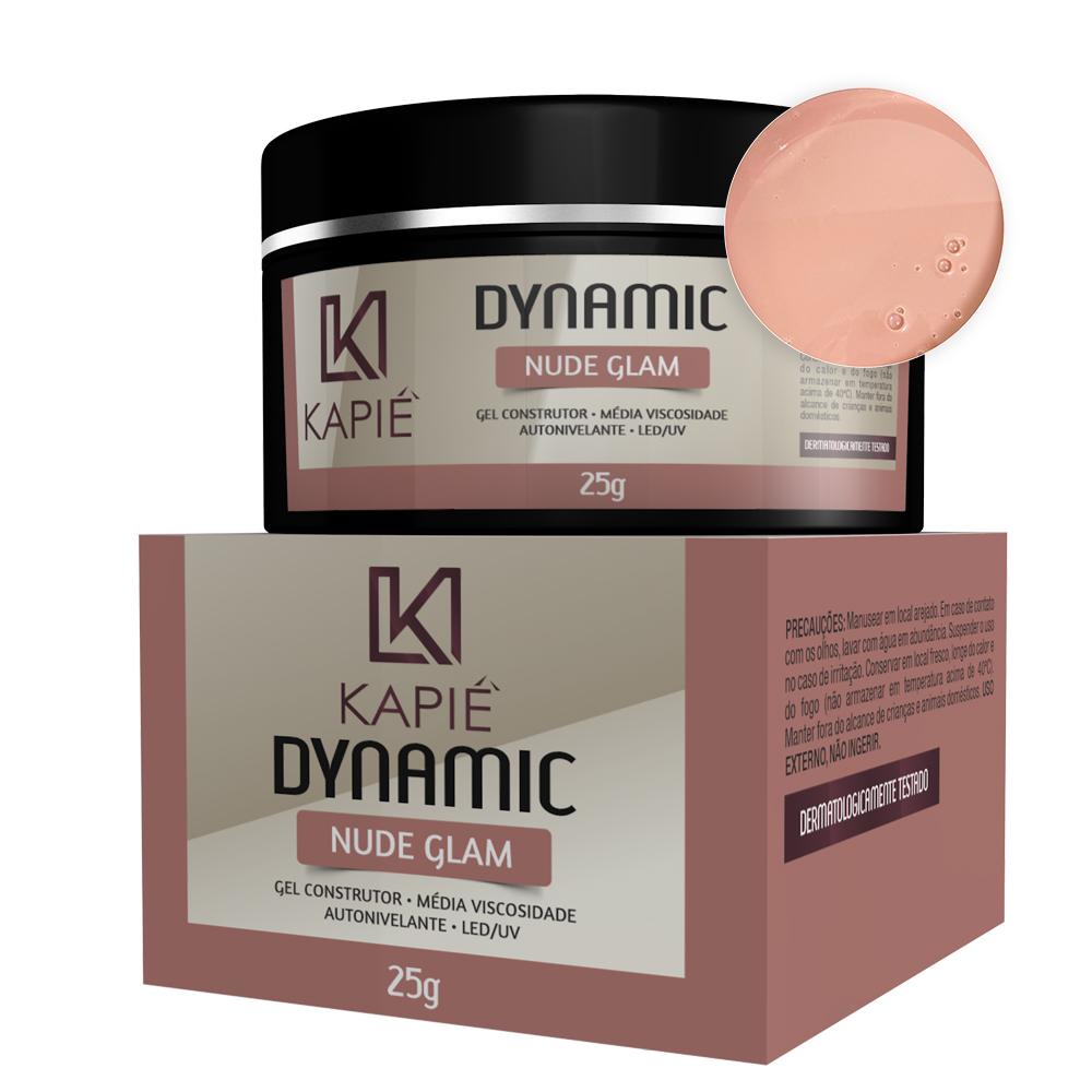 Gel Construtor Nude Glam (25g) - Kapie Dynamic Cosmeticos