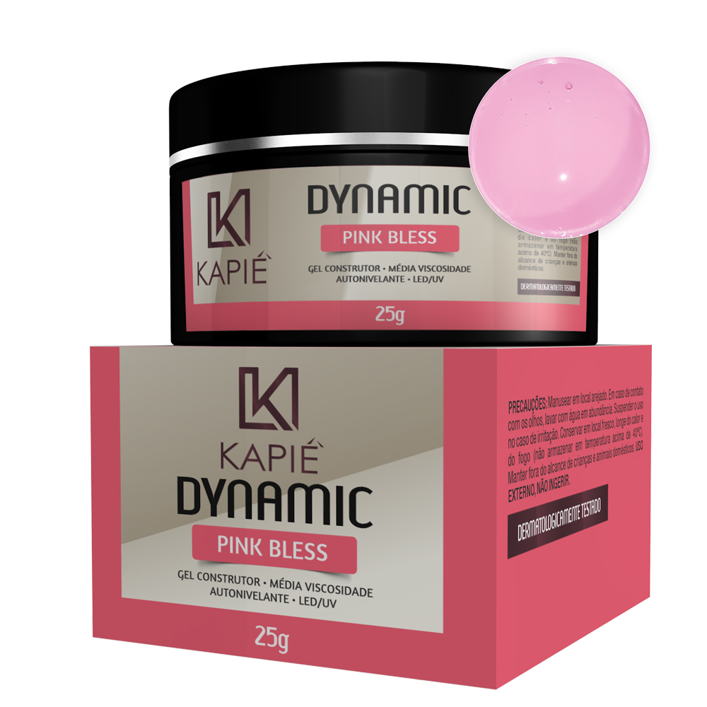Gel Construtor Pink Bless (25g) - Kapie Dynamic Cosmeticos
