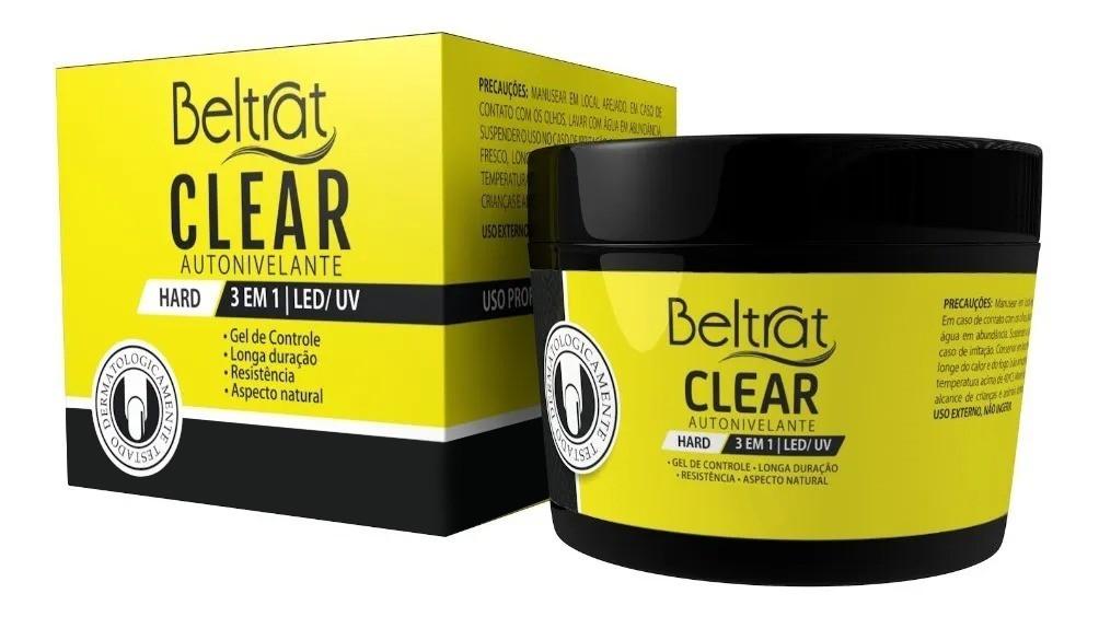 Gel Hard p/ Unhas - Clear - Beltrat
