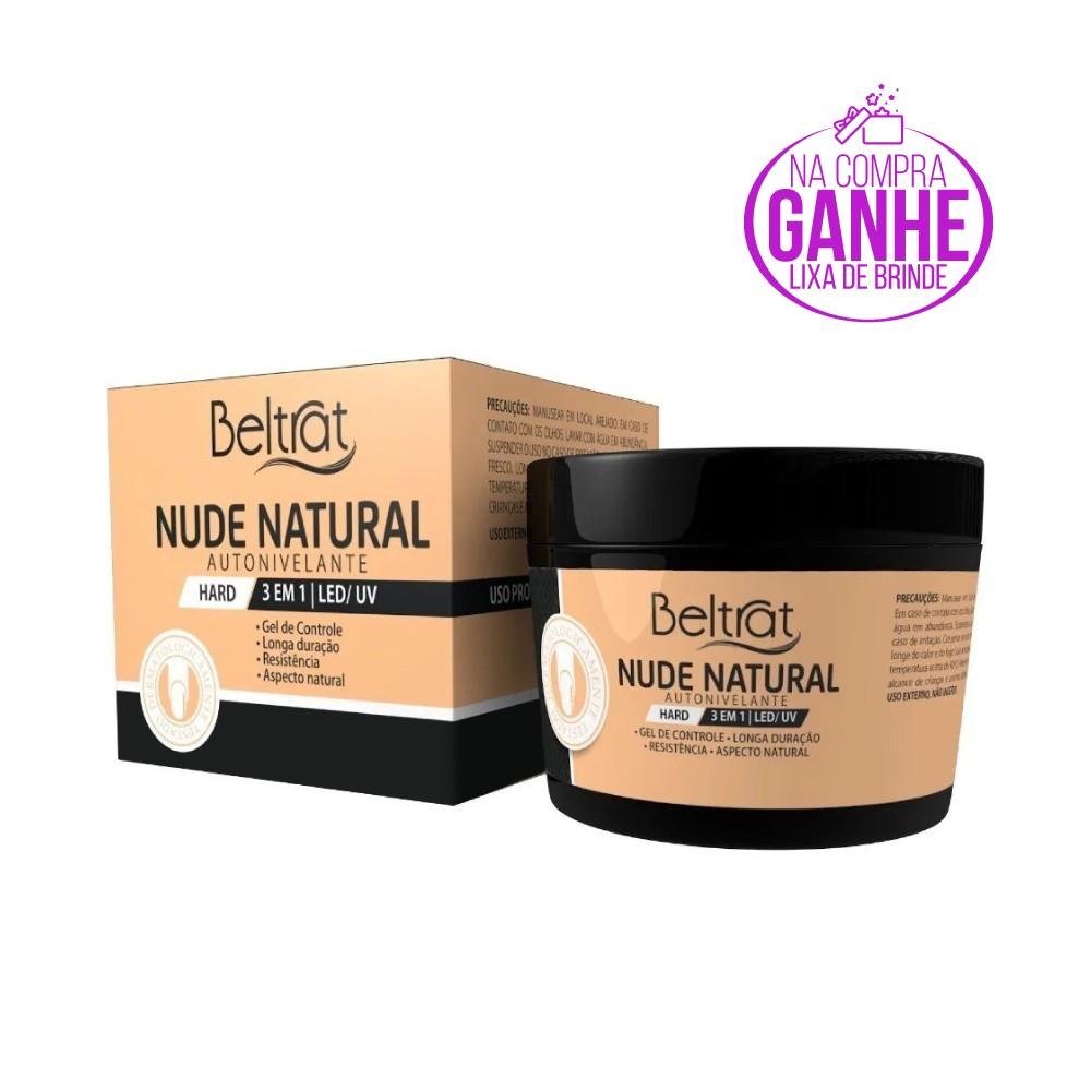 Gel Hard p/ Unhas - Nude Natural - Beltrat