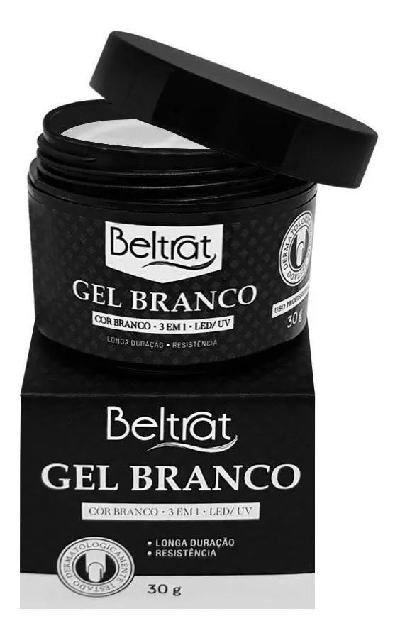 Gel p/ Unhas Branco Autonivelante - Beltrat (30g)