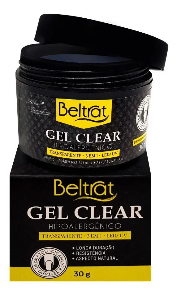 Gel p/ Unhas Clear Autonivelante - Beltrat (30g)