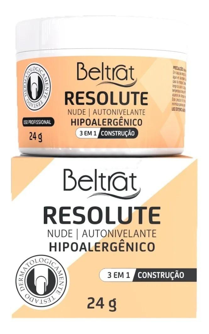 Gel p/ Unhas Resolute - Nude - Beltrat (24g)