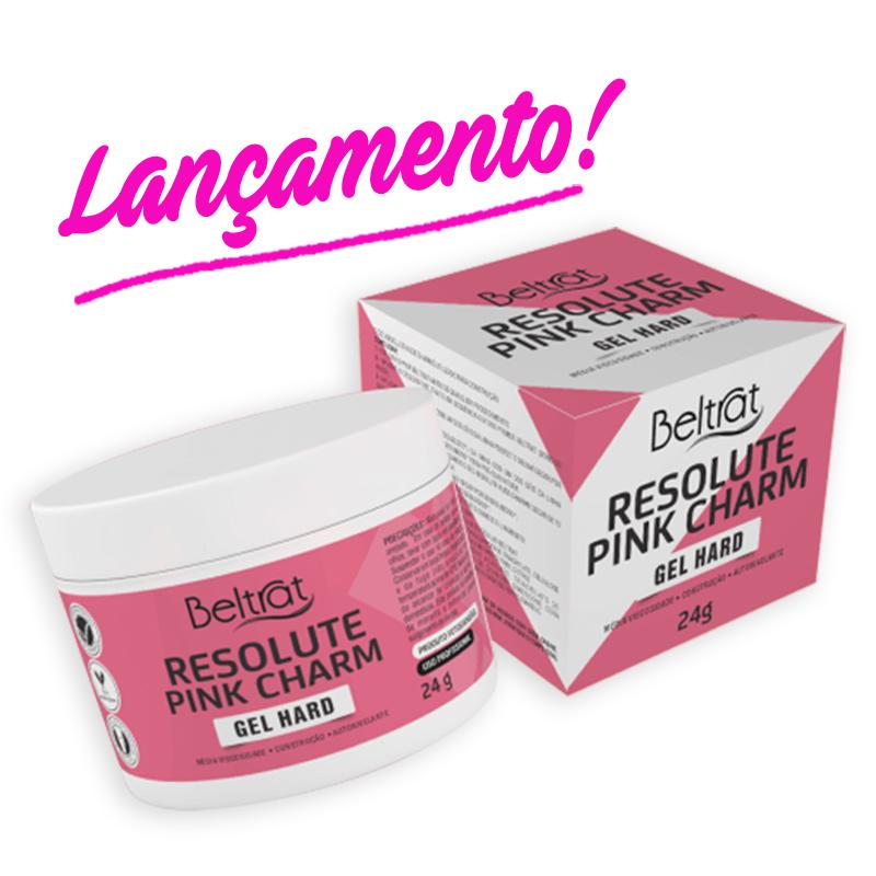 Gel p/ Unhas Resolute Pink CHARM - Beltrat (24g)