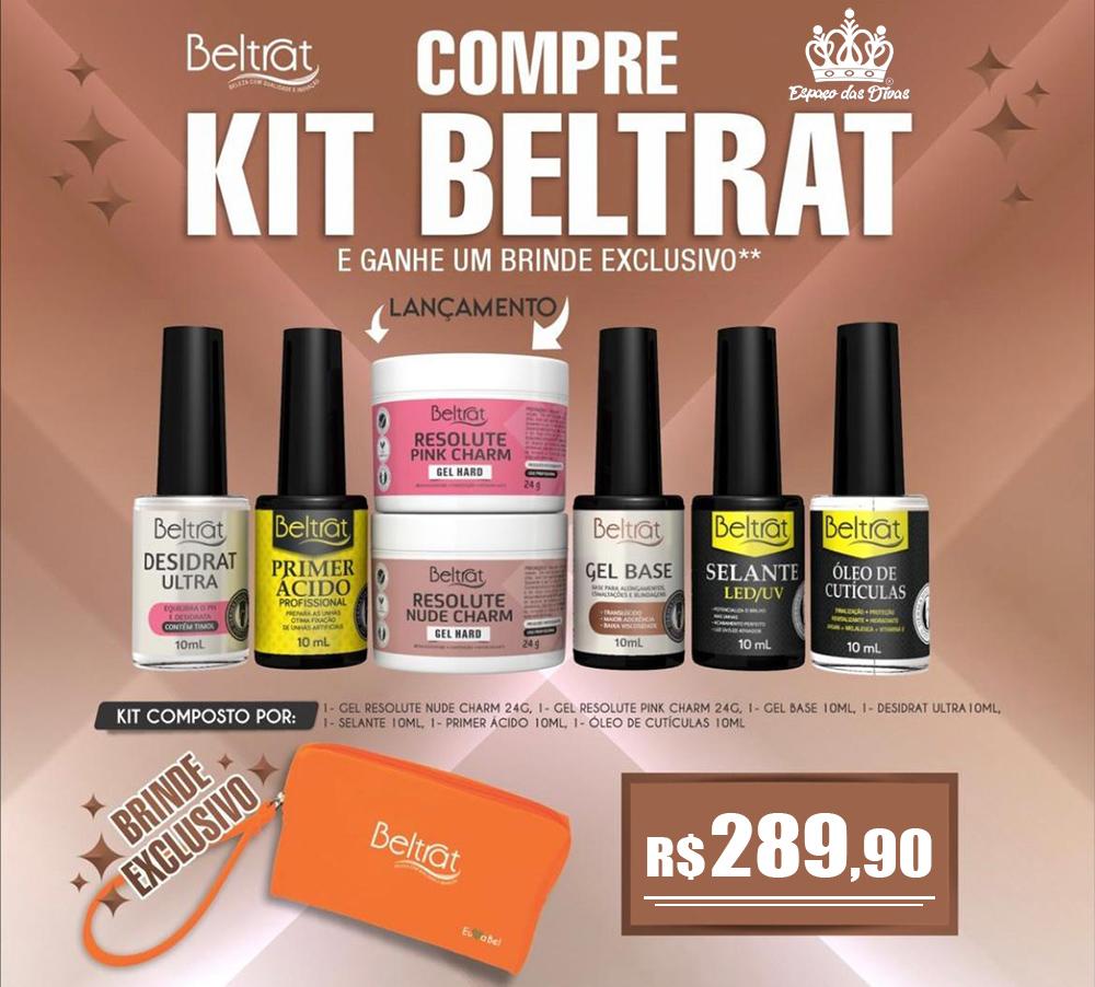 Kit Beltrat + Gel Resolute Lançamento + Brinde Exclusivo