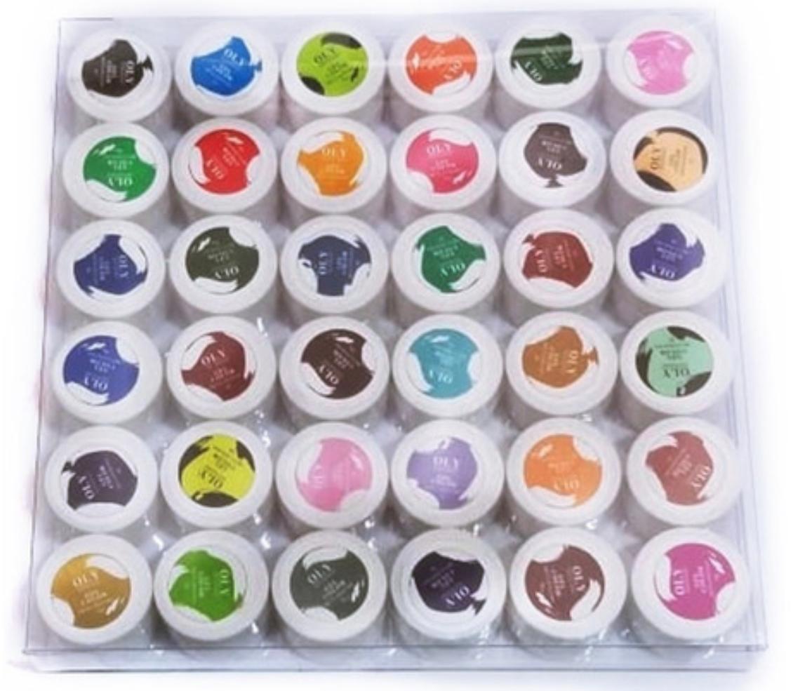 Kit Com 36 Géis Colorido para Decoração