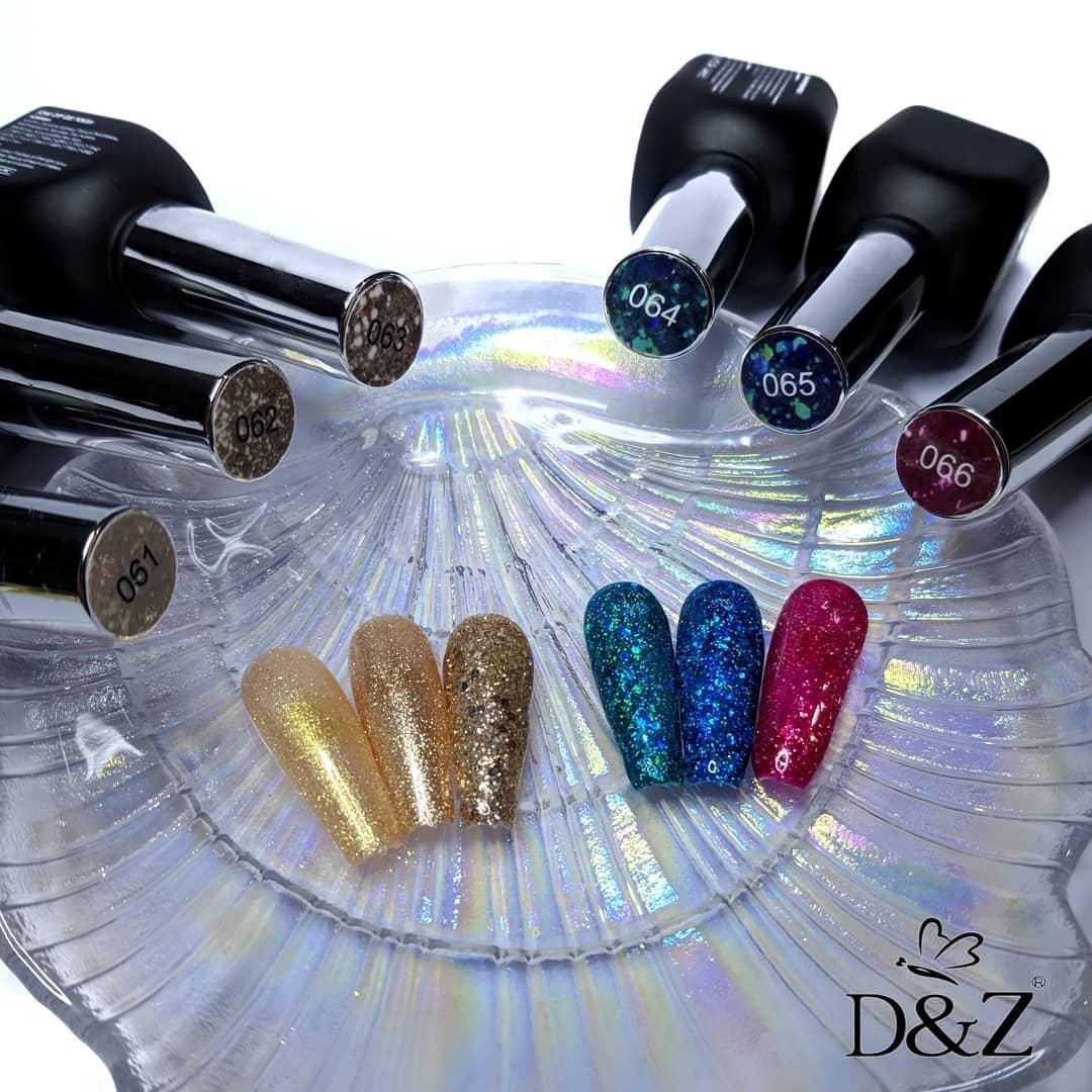 Kit Esmalte em Gel - Diamond Completa - D&Z / DeZ / DZ
