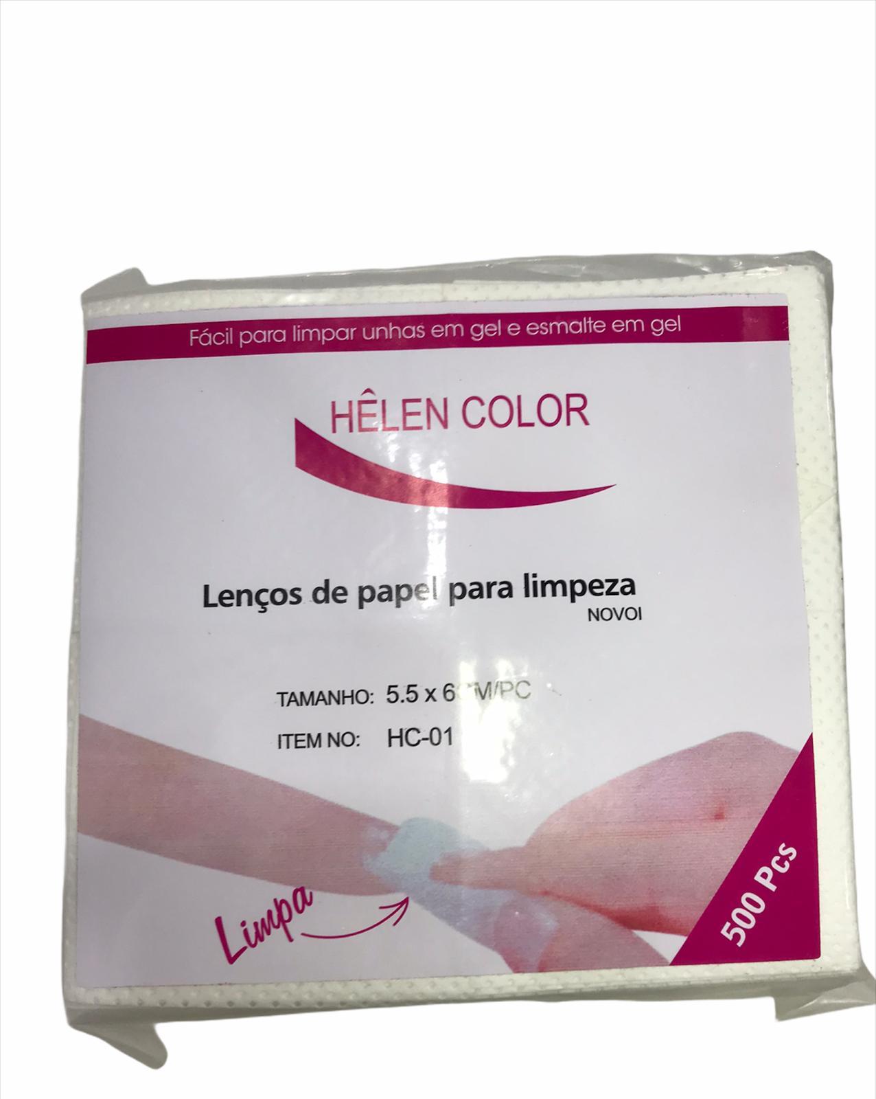 Lenços de Papel Limpeza Limpa Fácil - Helen Color