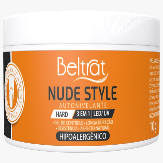 Mini Gel Hard p/ Unhas - Nude Style - Beltrat (10g)