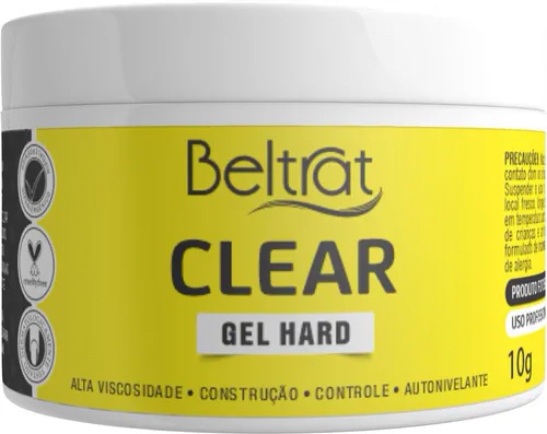 Mini Gel Hard p/ Unhas - Supreme Clear - Beltrat (10g)