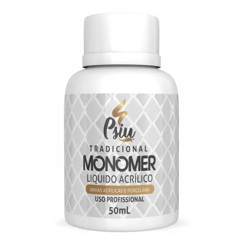 Monomer Liquido Acrilico Unhas - Psiu - 50ml