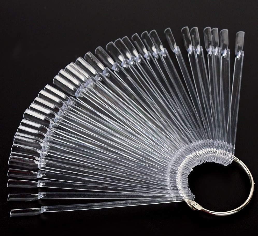 Mostruário Argola - 50 Cores - Transparente