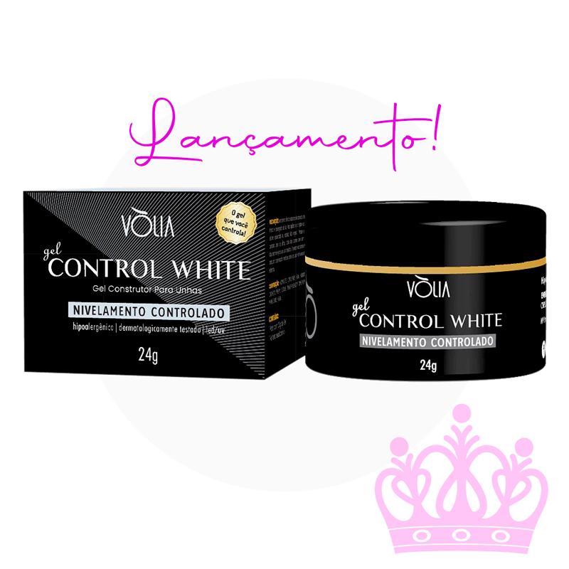 Novo! Gel Control WHITE Branco - Vòlia (24g)