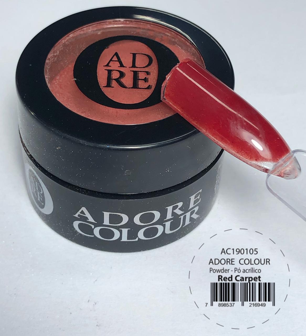 Pó Acrílico Adore Colour Powder - Red Carpet (5g)