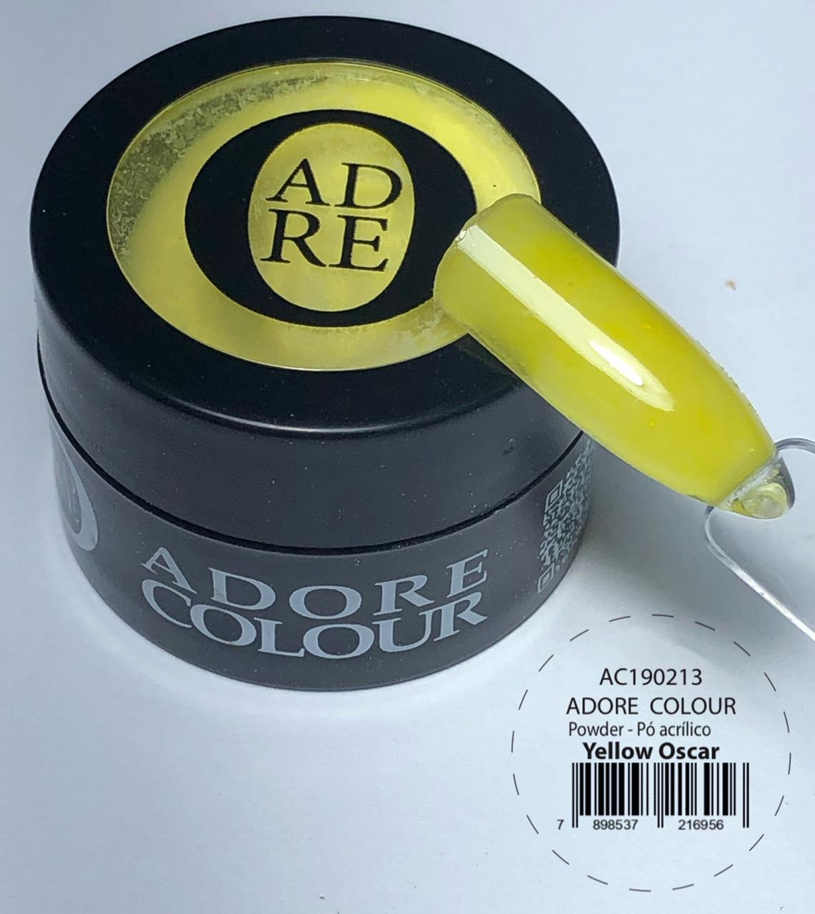 Pó Acrílico Adore Colour Powder - Yellow Oscar (5g)