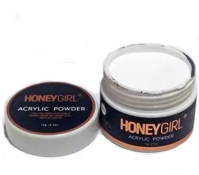 Pó Acrílico White - Honey Girl (15g)