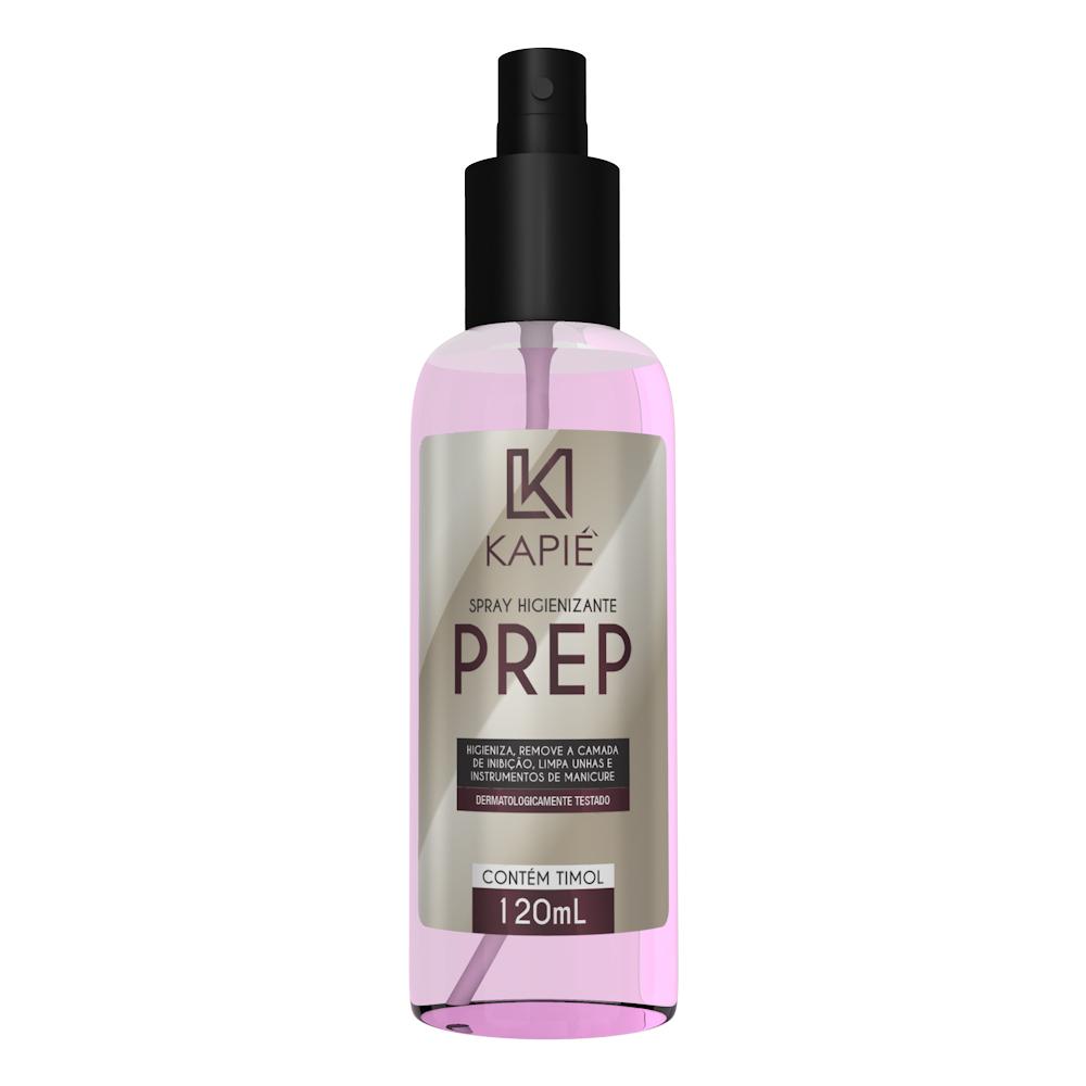 Prep Higienizador Spray (120ml) - Kapie Cosmeticos