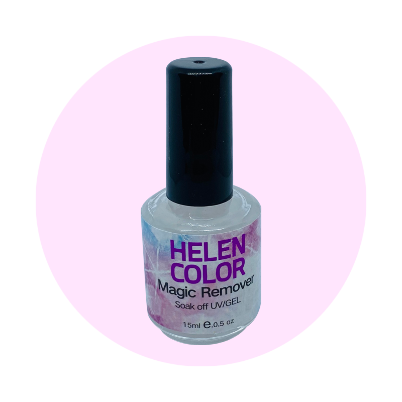 Removedor Esmalte em Gel - Magic Remover Helen Color - 15ml