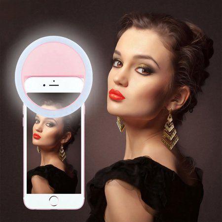 Ring Ligth Selfie