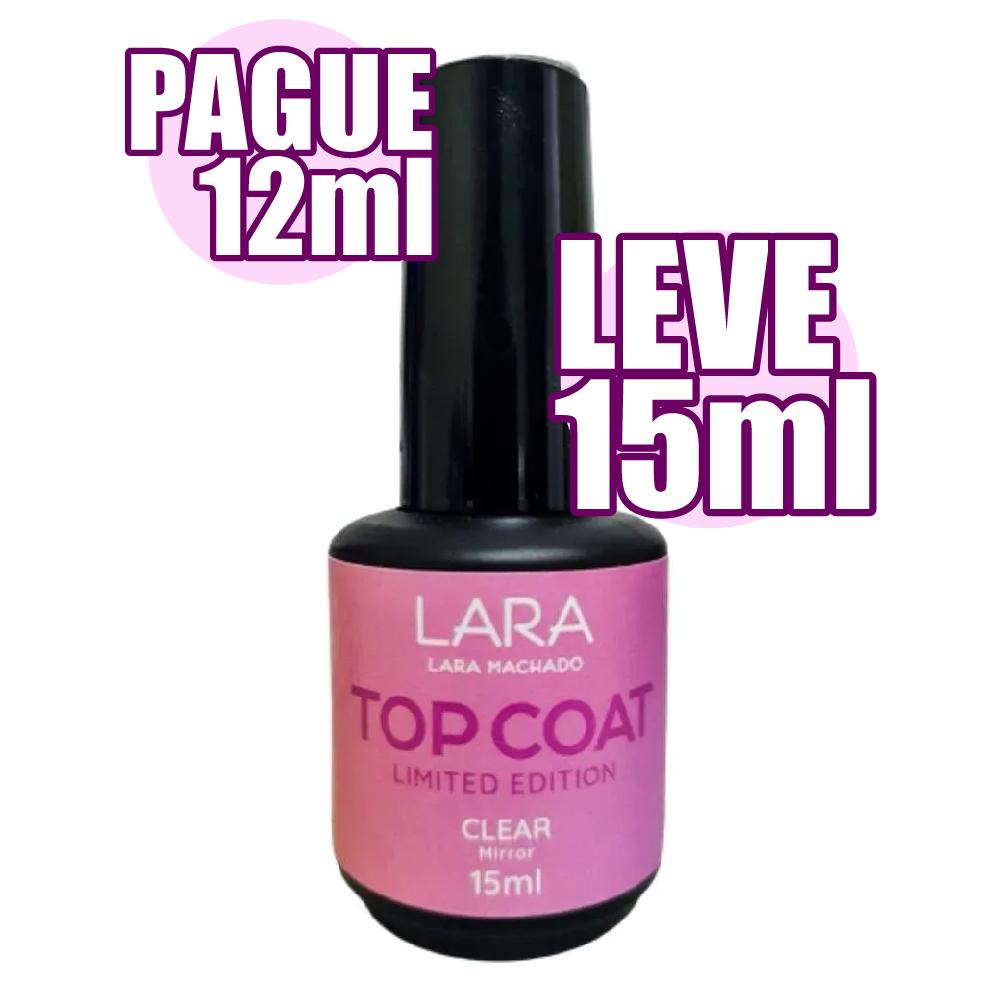 Top Coat Clear - Lara Machado - 12ml