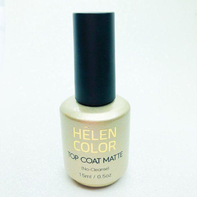 Top Coat Matte - Helên Color (15ml)