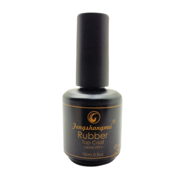 Top Coat Rubber Matte (Fosco)  - Fengshangmei - (15ml)